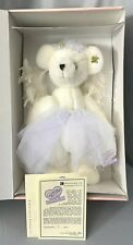 """Annette Funicello Snow Angel Jointed Bear 10/20,000 Rare C51711 Mint Nrfb 17"""""""