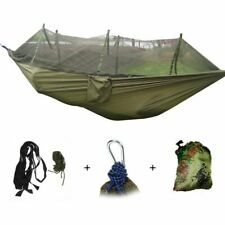 Portable Mosquito Net Camping Hammock Outdoor Garden Travel Swing Parachute Fabr