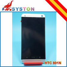 Pantalla completa HTC One 801n 801e 801 M7 Blanco Blaca LCD+Tactil