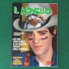 Rivista IL MONELLO n.26 1982 (ITA) A. CAMERINI D. MARADONA FRANK ZAPPA GO-GO'S