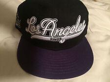 New Era Los Angeles Kings NHL 9Fifty Snapback Script BK Vintage Caps hats