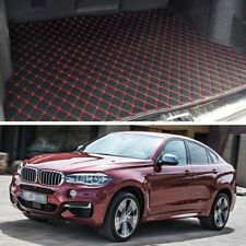 Premium Car Trunk Mat Leather Waterproof Fit for 2015 2016 2017 BMW X6
