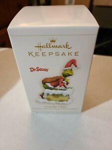 """Hallmark Keepsake """"Grinchy Claus"""" Dr.Seuss's 'How The Grinch Stole Christmas'"""