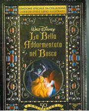 LA BELLA ADDORMENTATA NEL BOSCO  Ed. GIFT -2 DVD + LIBRO Walt Disney NUOVO