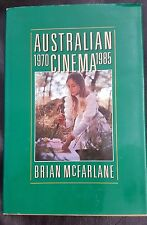 Australian Cinema 1970-1985 by Brian McFarlane (Hardback, 1987)