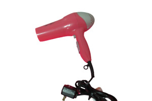 Revlon Pink Professional Hair Dryer Blower Styler 1875W Compact Cool Shot Button