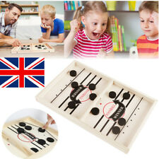 Wooden Hockey Table Game Family Fun Interactive Game for Kids Children 100% NEW