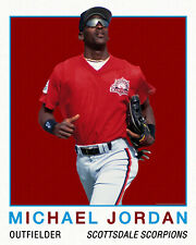 Michael Jordan Plays Baseball