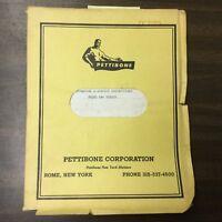 Pettibone 70 & 90 CRANE OPERATORS & SERVICE MANUAL GUIDE SWING CAB MULTIKRANE