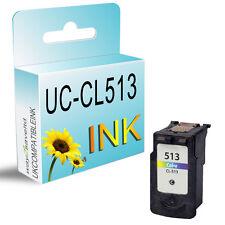 1 Color Cartucho De Tinta Para Pixma Mp230 mp235 Mp240 Mp260 Mp250 Mp270 mp272 cl513