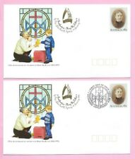 AUSTRALIA 1994 Pair of PSE's  FDC & Mint - Beatification MARY MacKILLOP + Insert
