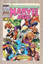 Marvel Age #12 VF- 7.5 1984