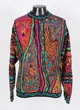 Fantastic COOGI Sweater -Zebras, Giraffes, Birds, Fish - XL