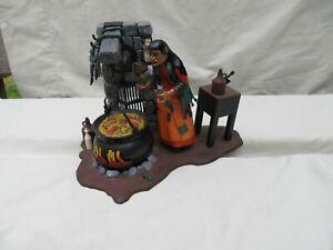 Vintage 1965 Aurora Witch Monster Model  / Built Up Horror / Flaws