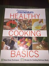 Weight Watchers HEALTHY COOKING BASICS book Cookbook diet recipe Points Momentum