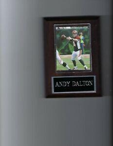 ANDY DALTON PLAQUE CINCINNATI BENGALS FOOTBALL NFL