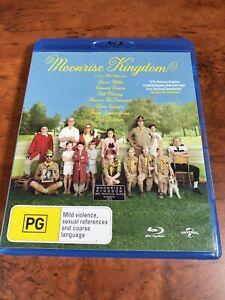 Moonrise Kingdom Blu Ray AUS Seller