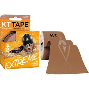 """KT Tape Pro Extreme 10"""" Precut Kinesiology Therapeutic Sports Roll - 20 Strips"""