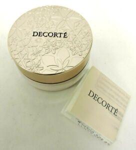 JAPAN COSME DECORTE Face Powder 20g Makeup Paraben Translucent Fast Shipping