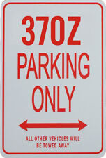 370Z PARKING ONLY - MINIATURE FUN PARKING SIGNS