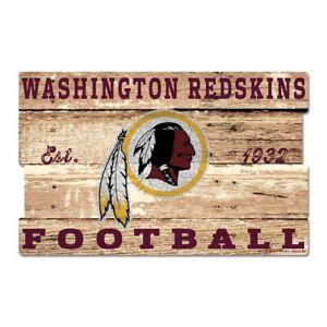 NFL Football Washington Redskins Plank Wood Sign Wooden Wall Decoration