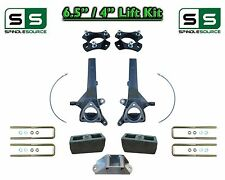 """6.5"""" / 4"""" Spindle Block LIFT KIT for 2004 - 2018 Nissan Titan 2WD w/CB Spacer"""