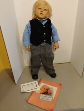 Vintage Annette Himstedt Kasimir Doll #1146 With Signature
