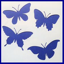 Flexible Stencil *BUTTERFLIES* Garden Butterfly Card Making 10cm x 10cm