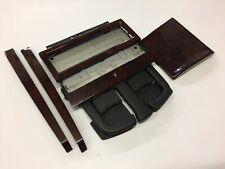 Vw Bora Golf mk4 Dark Wood dash trim set with Cup Holder (diag set)