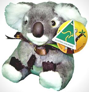 Australian Made Soft Toy Koala - for Baby Shower gift or Children's gift