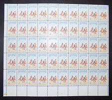 US #1187 1961 Frederic Remington, Artist of the West Postage Stamp Sheet Issue
