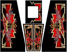 Black Knight 2000 BK2K Pinball Machine Cabinet Decals - NEXT GEN - LICENSED