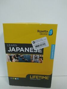 Rosetta Stone Learn Japanese with Lifetime Access