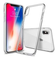 For iPhone XS Case Shock Proof Crystal Clear Soft Silicone Gel Bumper Cover Slim