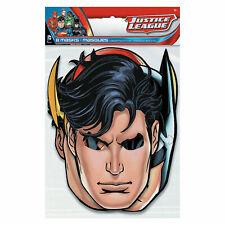 """Dc Comics Justice Leagueâ""""¢ Party Masks - Party Supplies - 8 Pieces"""