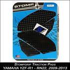 STOMPGRIP Pads de tracción,YAMAHA yzf-r1,09-14,RN22,negro,Protector depósito,