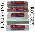 5 Polishing Compound Rouges Colors Black Brown White Green Blue Large 2lb Each