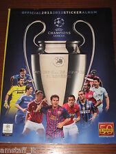 ALBUM PANINI FIGURINE STICKER UEFA CHAMPIONS LEAGUE 2011/12 VUOTO EDICOLA
