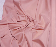 "PONGEE LINING FABRIC DUSTY ROSE PINK   60"" WIDE BY THE YARD  BLOUSES HOME DECOR"