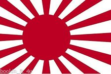 ***JAPANESE WWII IMPERIAL FLAG DECAL / STICKER***