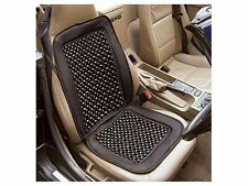 Universal Black Wooden Beaded Car Massaging Seat Cover summer cool back issues