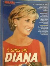 PRINCESS DIANA 5 Year Anniversary Booklet Semana MAGAZINE SPAIN