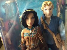 Disney Fairytale Designer Collection Doll  In Hand Pocahontas & John Smith #1508