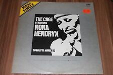 "The Cage Featuring  Nona Hendryx ‎– Do What Ya Wanna Do (Vinyl 12"") (WEA 28338)"