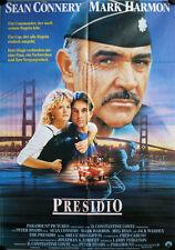 The Presidio German movie poster Sean Connery, Mark Harmon, Meg Ryan Jack Warden