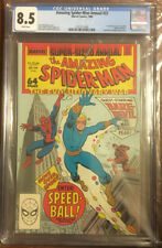 Amazing Spider-Man Annual #22 1st Appearance of Speedball CGC 8.5 Marvel