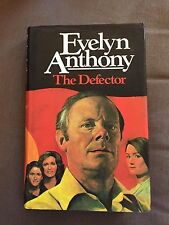 """1981 """"THE DEFECTOR"""" EVELYN ANTHONY FICTION HARDBACK BOOK"""