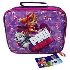 Paw Patrol Girls 3 PC Lunch Bag Set
