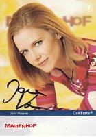 """Jana VOOSEN - dt. TV-Schauspielerin, """"Marienhof"""", Original-Autogramm!"""