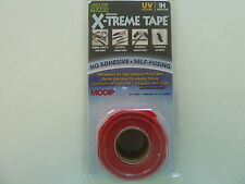 "X-TREME TAPE PIPE RESCUE RED 1"" X 10' LENGTH PERMANENT AIR & WATER TIGHT NEW"